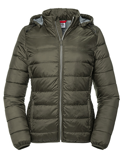 Russell Russel Nano Hooded Jacket - Dames