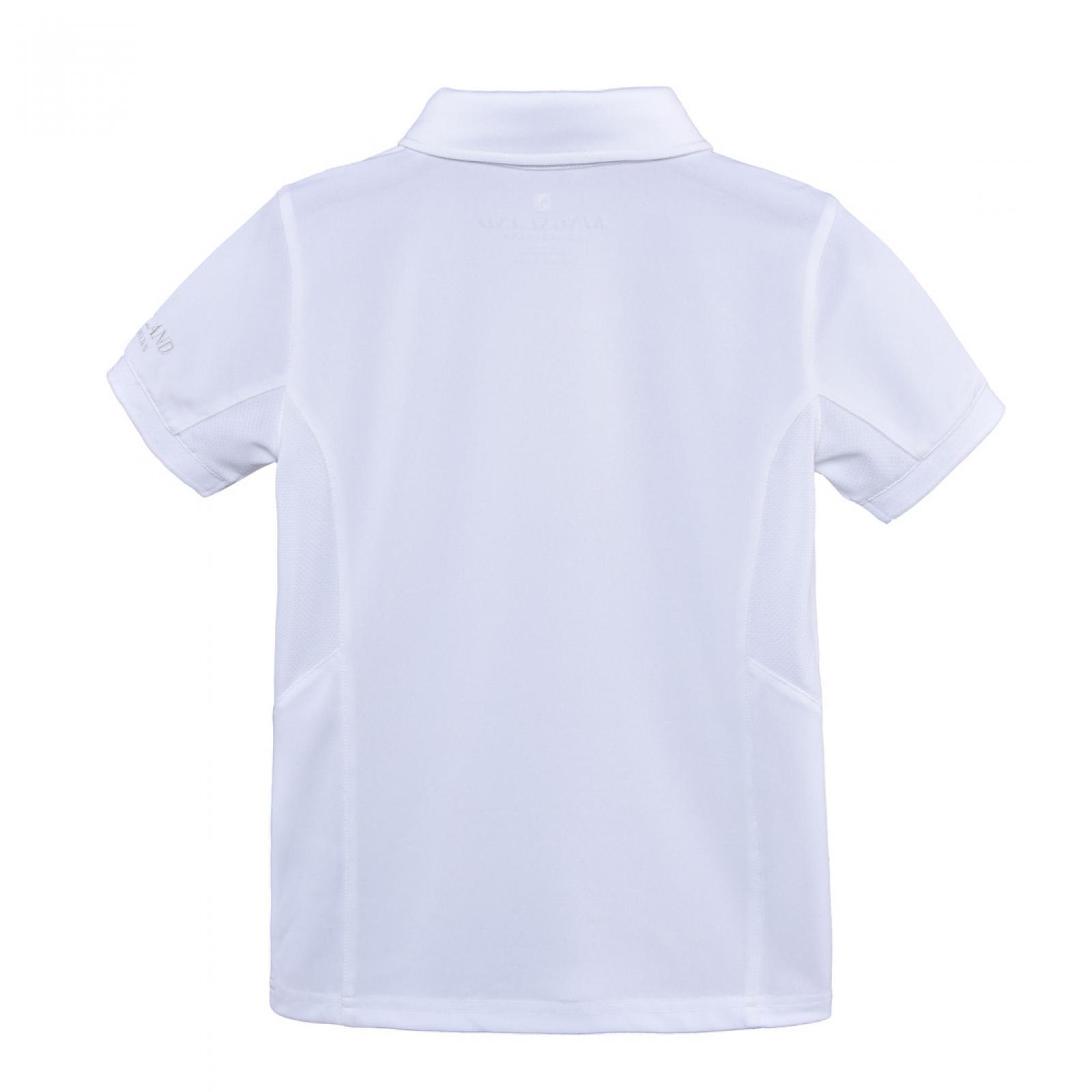 Kingsland Kingsland - Classic boys short sleeve show shirt white
