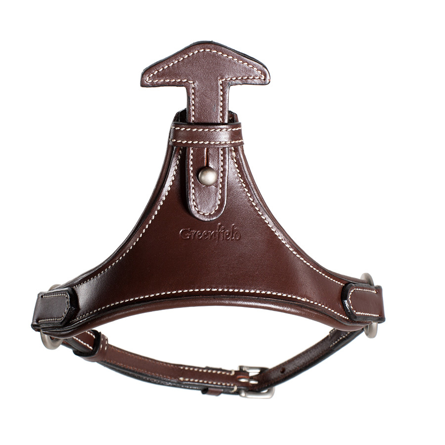 Greenfield Selection Triangle flash strap - cow leather