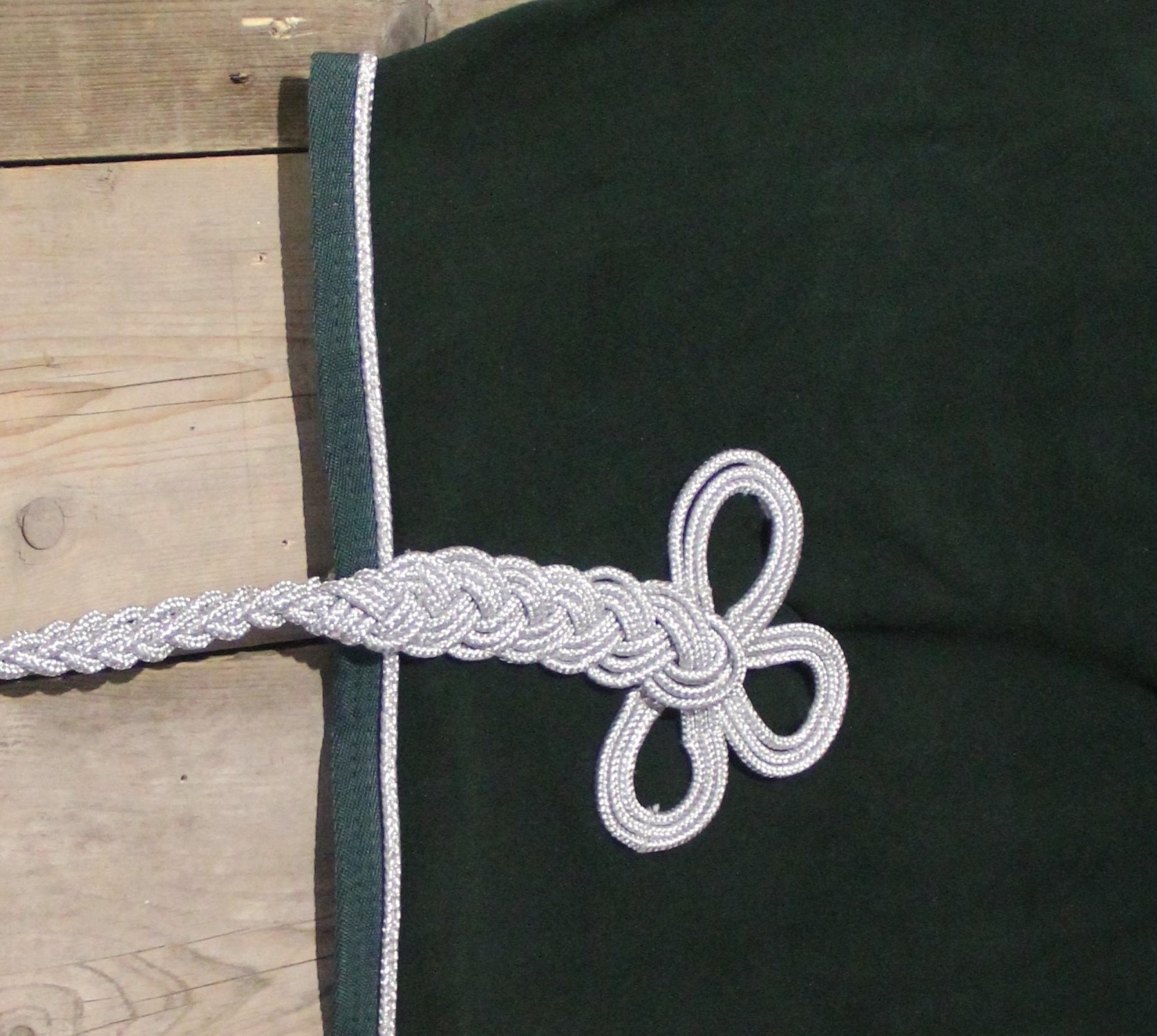 Greenfield Selection Nierdeken fleece - groen/groen-zilver