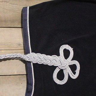 Greenfield Selection Couvre-reins polaire - bleu marine/bleu marine-argent