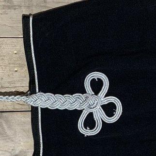 Greenfield Selection Couvre-reins polaire - noir/noir-argent