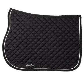 Pony - Saddle pad piping - black/black-white