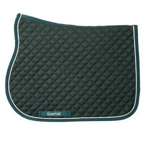 Pony - Saddle pad piping - green/green-white
