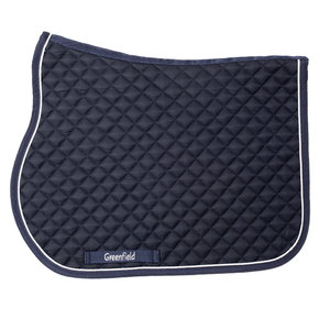 Pony - Saddle pad piping - navy/navy-white