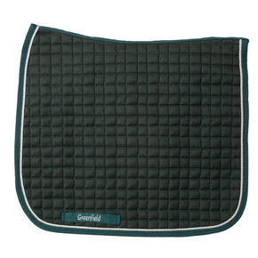 Saddle pad cookie - dressage - green/green-silver