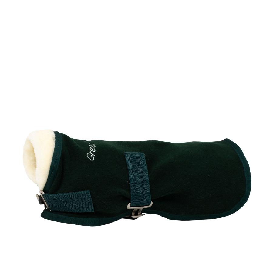 Greenfield Selection Manteau pour chien polaire avec col teddy