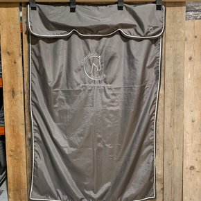 SALES !! Stable curtain grey/grey-white with GF logo