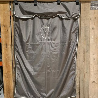 Greenfield Selection SALES !! Stable curtain grey/grey-white with GF logo