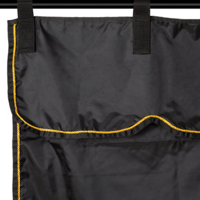 Stable curtain black/black - gold