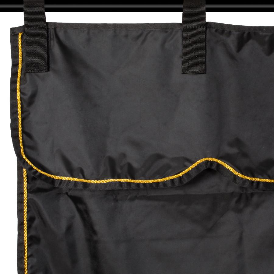 Greenfield Selection Stalgordijn zwart/zwart - goud