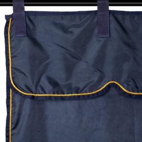 Tenture bleu marine/bleu marine - or
