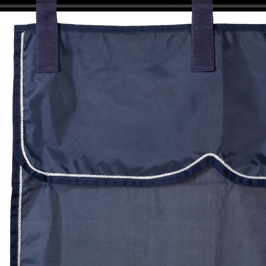 Greenfield Selection Stalgordijn blauw/blauw - zilver