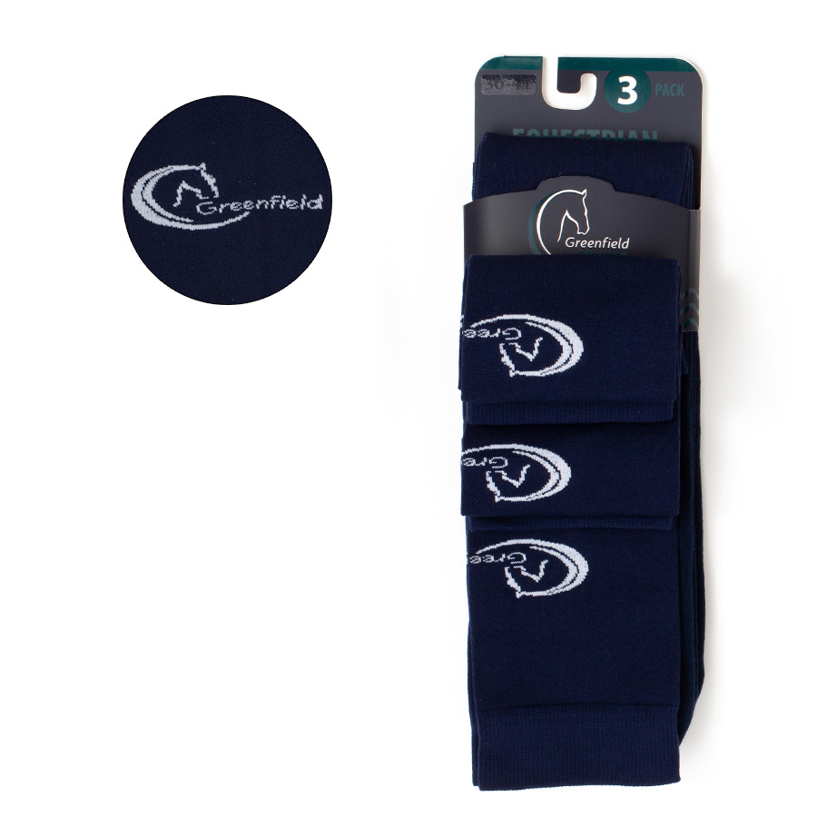 Greenfield Selection Greenfield Chausettes - Set de 3 - Unisex