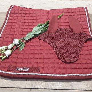 Greenfield Selection Bordeaux dressuur setje