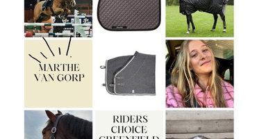 Rider's Monthly choice: Marthe Van Gorp