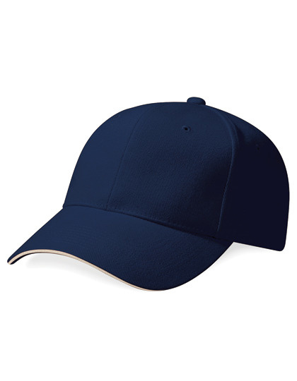 Beechfield Casquette - Pro-Style Heavy Brushed Cotton Cap