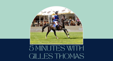 5 Minutes with Gilles Thomas