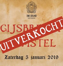 zaterdag 5 januari 2019 Ticket + Diner