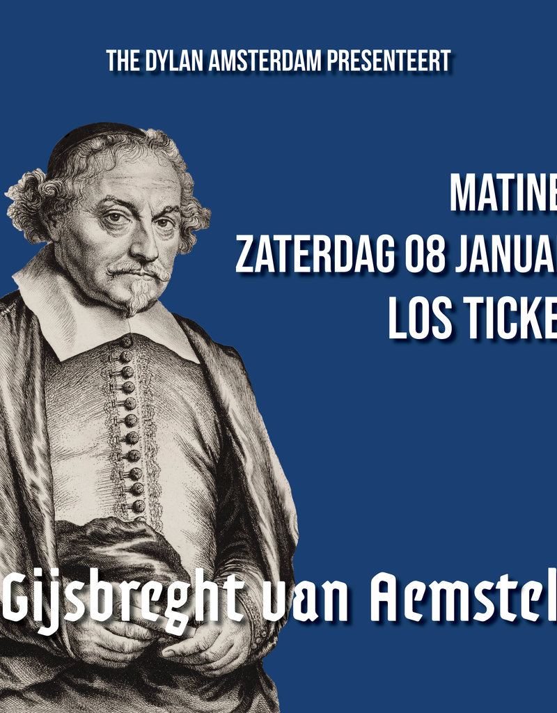 Saturday 4 January 2020 MATINEE   Ticket Only - Copy