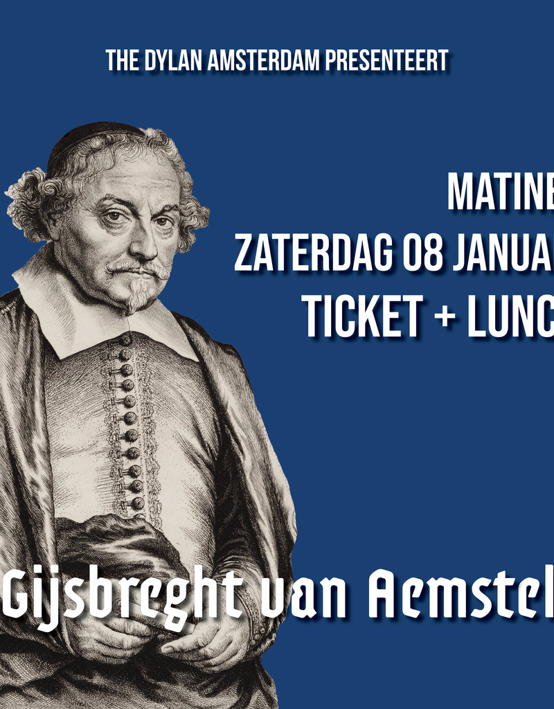 Saturday 4 January 2020 MATINEE | Ticket + Lunch - Copy