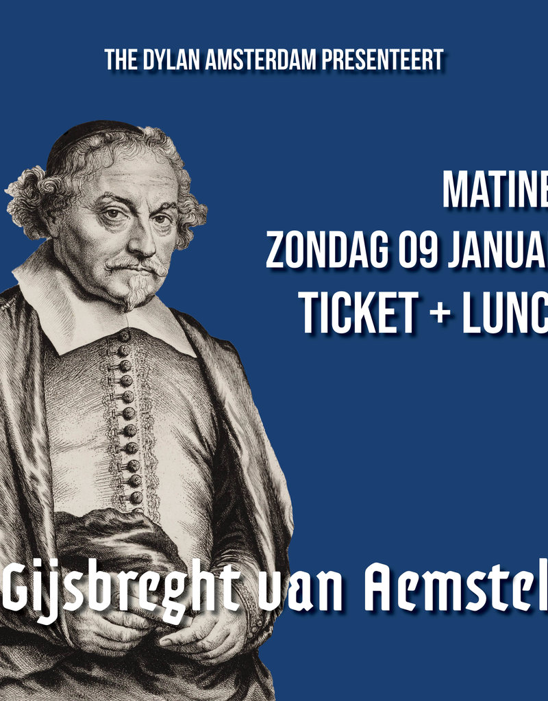 Saturday 4 January 2020 MATINEE | Ticket + Lunch - Copy - Copy