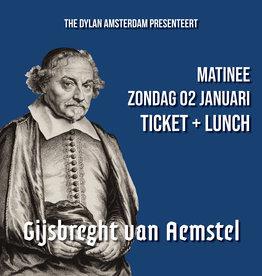 Saturday 4 January 2020 MATINEE   Ticket + Lunch - Copy - Copy - Copy