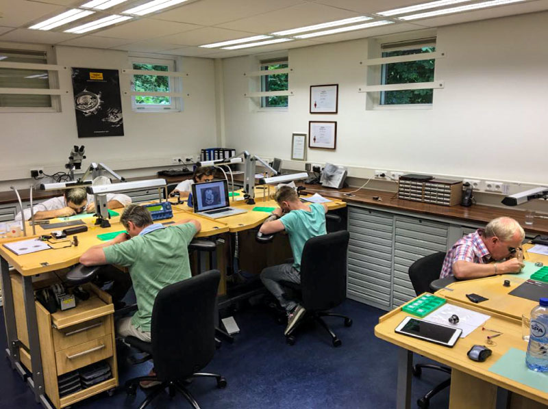 Workshop Horlogemaker Paul van Zeeland Gelderland