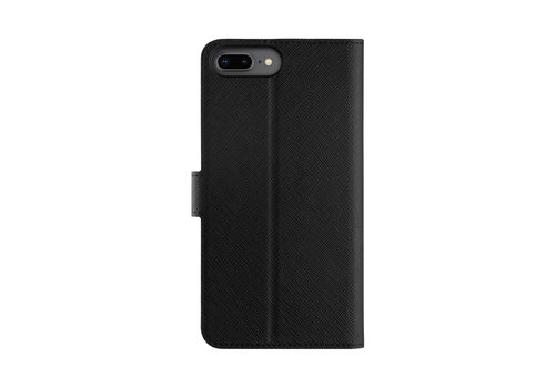 Wallet Case Viskan iPhone 6+/6S+/7+/8+ Zwart