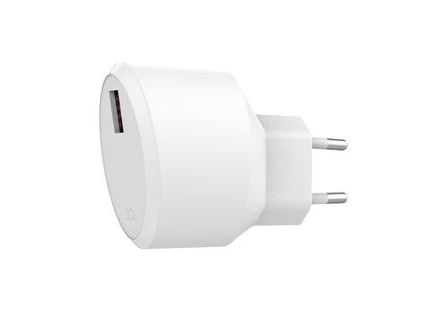 Travel Charger 2.4A Single USB EU White