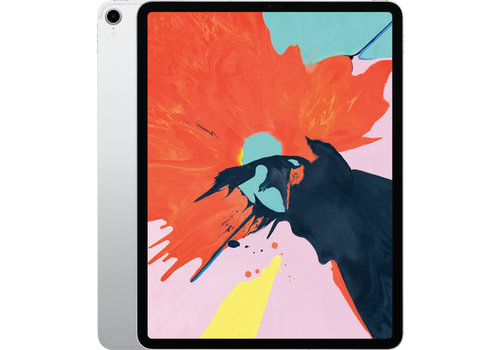 iPad Pro 12.9 Inch (2018 Versie) 64GB Silver Wifi only
