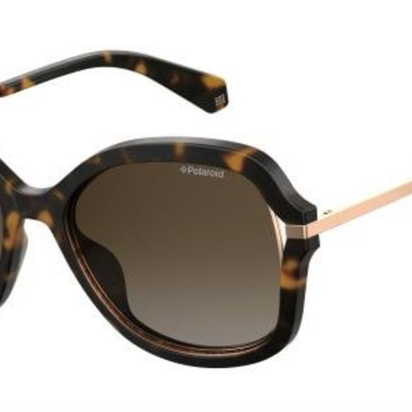 Polaroid PLD4068S 086 Dark Havanna Dames zonnebril