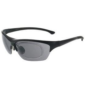 Sportbril Shoptic 891601 Mat zwart op sterkte
