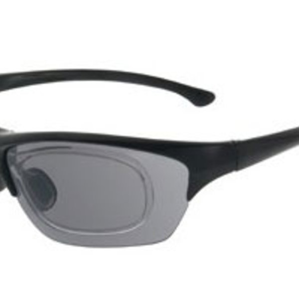 Sportbril op Sterkte Shoptic 891601 mat zwart Gratis glazen op sterkte