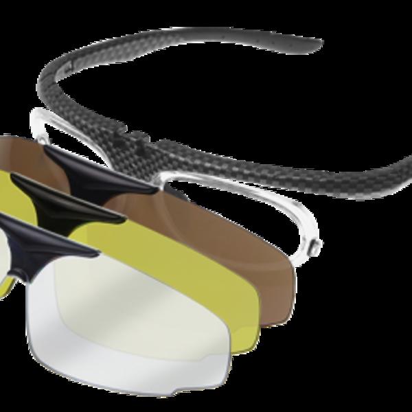 Ofar SportOfar ZO-1001 Sportbril op sterkte met gratis glazen.