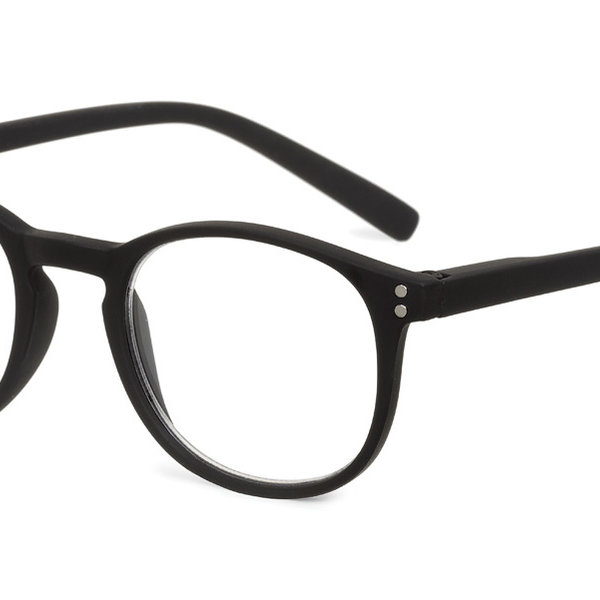 LoopLabb Leesbrillen Good Looks, Great Readers Looplabb Leesbril model Dune LL03 in zwart
