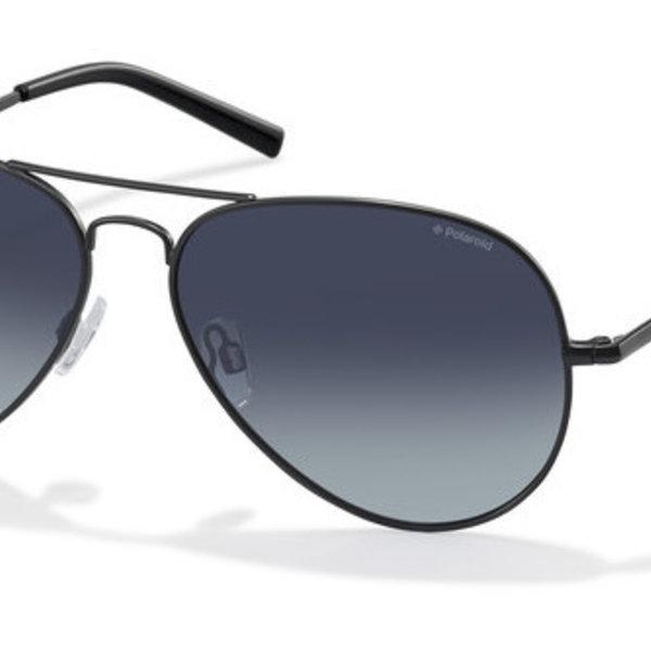 Polaroid PLD1071S 003 WJ Mat Zwart Pilotenbril