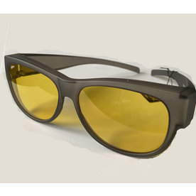 Ofar Fitofar VZ-0023H1 Grijs Yellow  Polarized Suncover