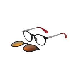 Polaroid Polaroid PLD6081 GCS OIT Black Red Leesbril