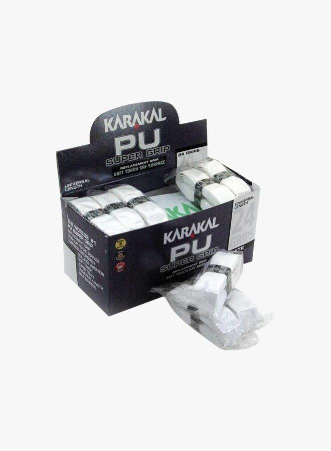 Karakal PU Super Grip White - Box of 24