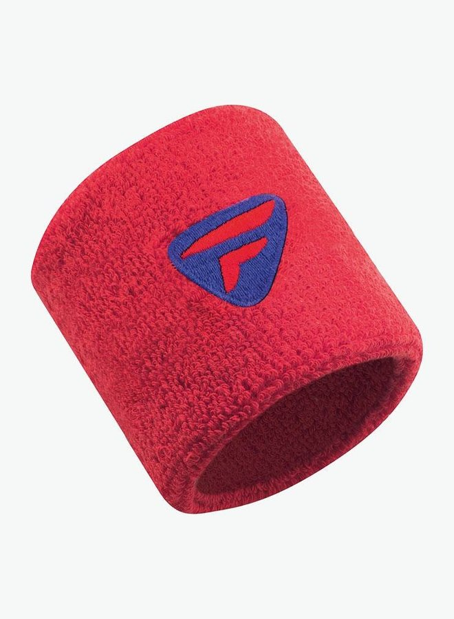 Tecnifibre Wristband - 2 Pack - Red