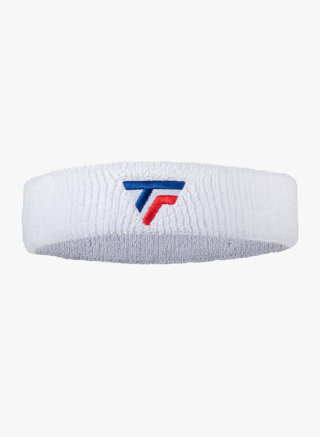 Tecnifibre Headband - White