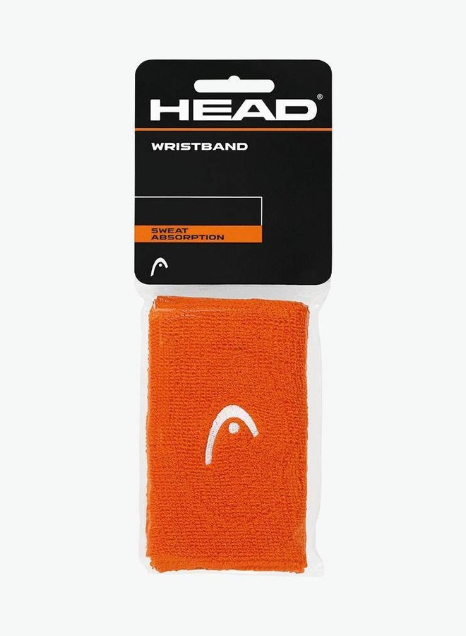 "Head Wristband 5"" - 2 Pack - Orange"