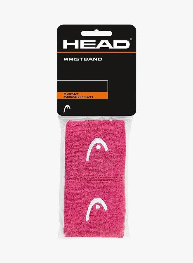 "Head Wristband 2,5"" - 2 Pack - Pink"