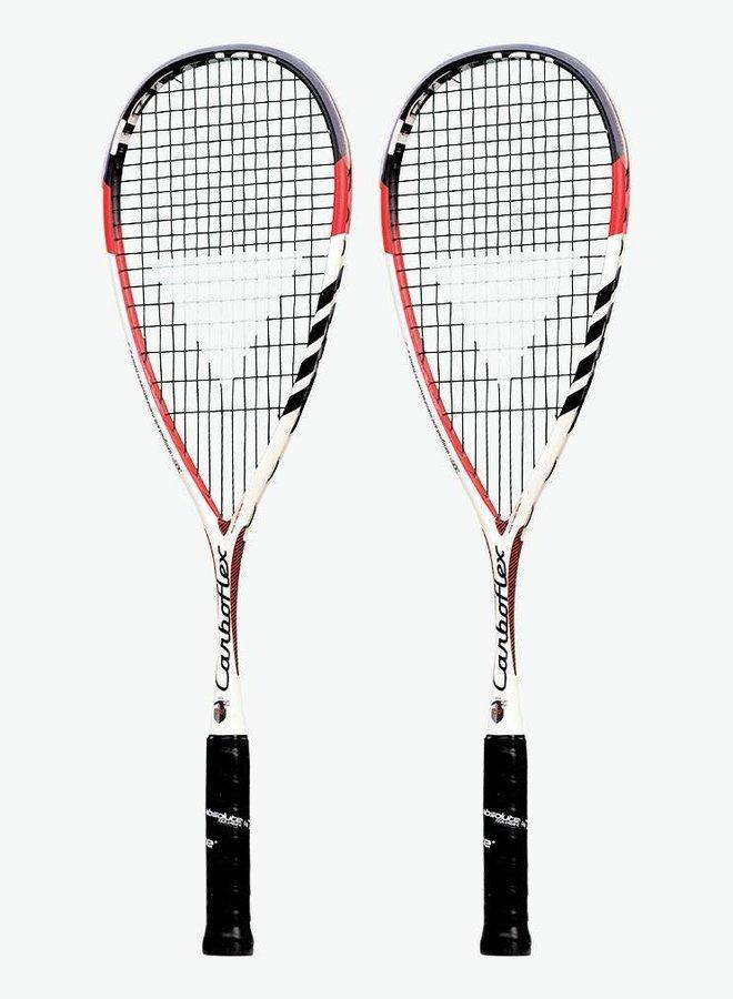 Tecnifibre Carboflex 130 - 2 Racket Deal
