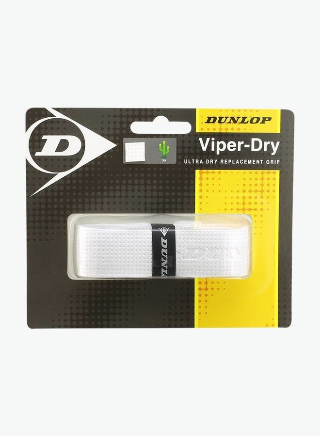 Dunlop Viper Dry Replacement Grip - White