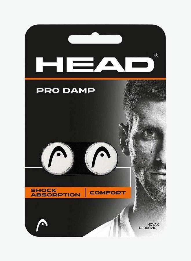 Head Pro Dampener - 2 Pack - White / Black