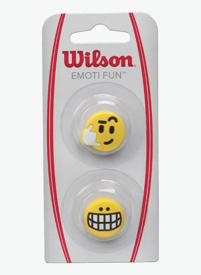 Wilson Emoti-Fun Big Smile / Call Me Dampener - 2 Pack