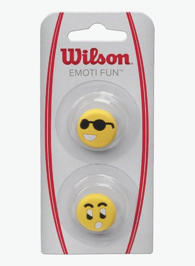 Wilson Emoti-Fun Sun Glasses / Surprised Dampener - 2 Pack