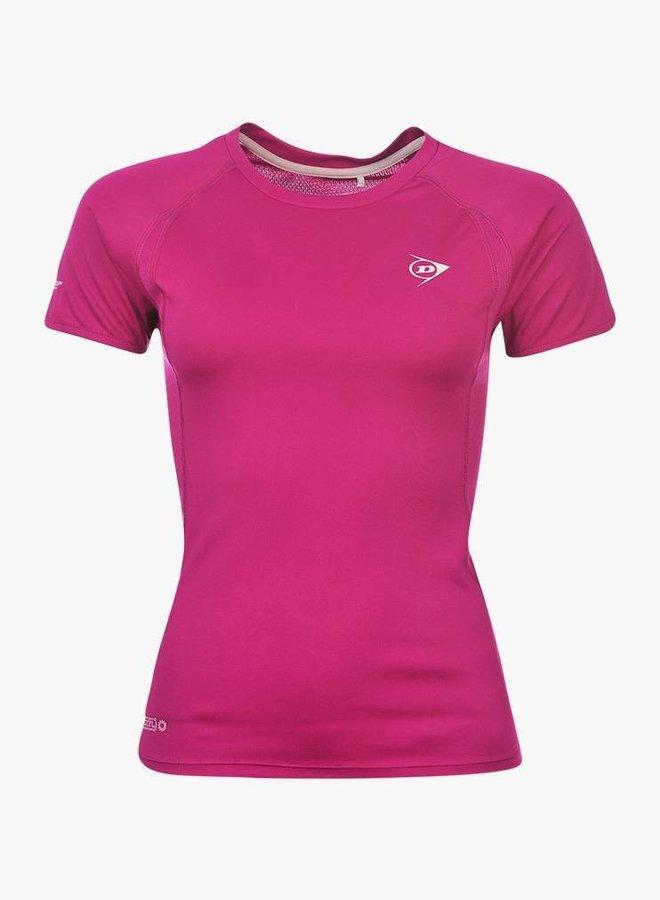 Dunlop Performance Shirt Ladies - Pink